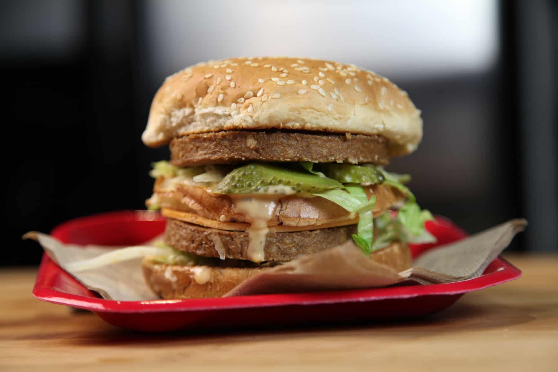 The Vegan Big Mac