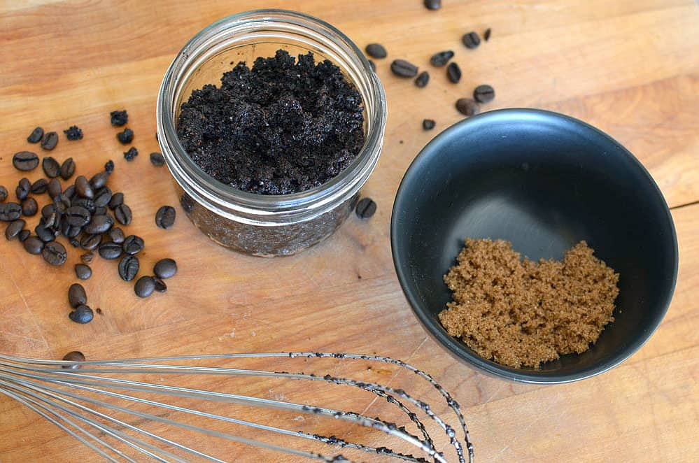 homemade coffee body scrub cellulite