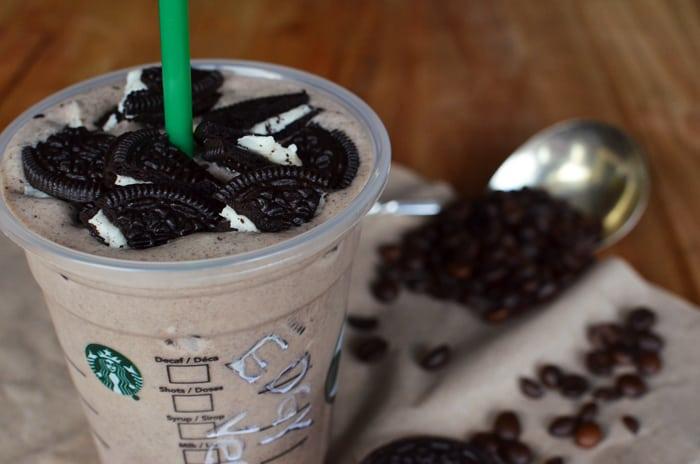 Oreo Frappuccino Starbucks Recipe The Edgy Veg