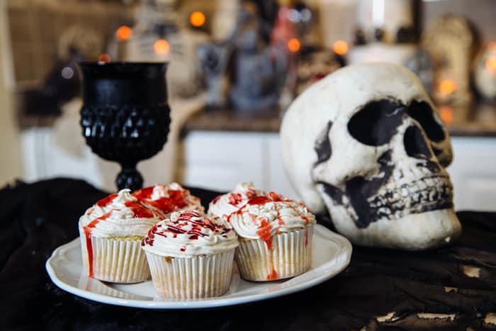 vegan halloween recipe zombie cupcakes