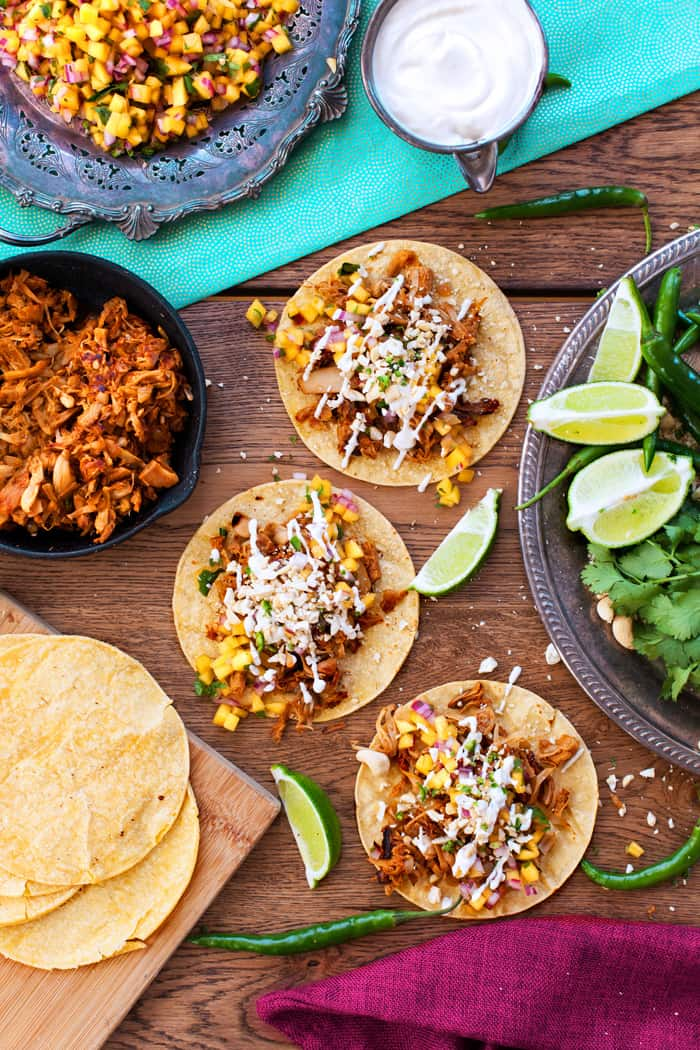 Jackfruit Tacos Pulled Pork Tacos The Edgy Veg