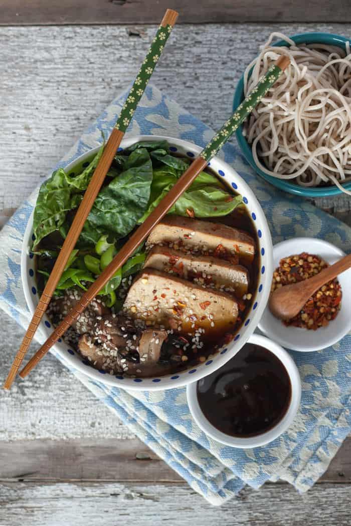 Easy Ramen in 30 Minutes   Vegan Ramen Recipe