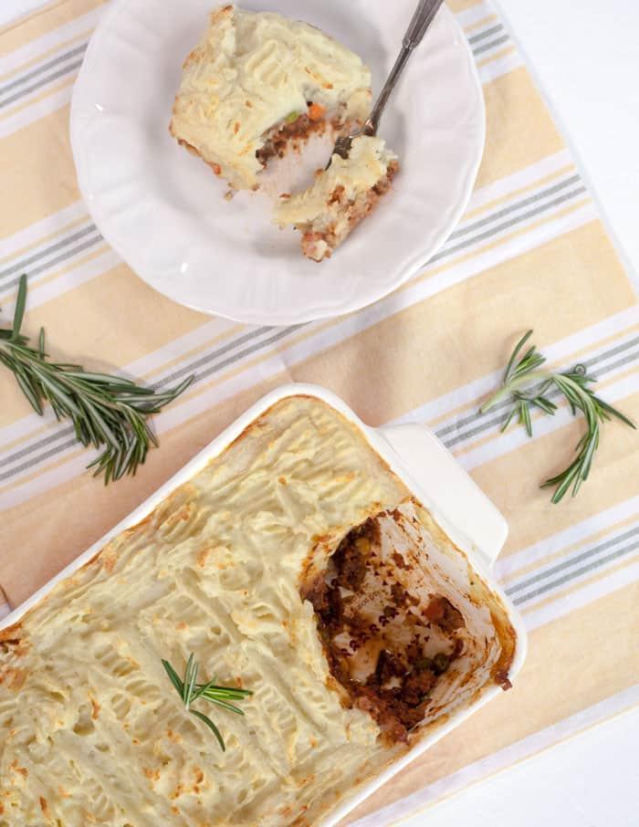 vegan shepherds pie recipe