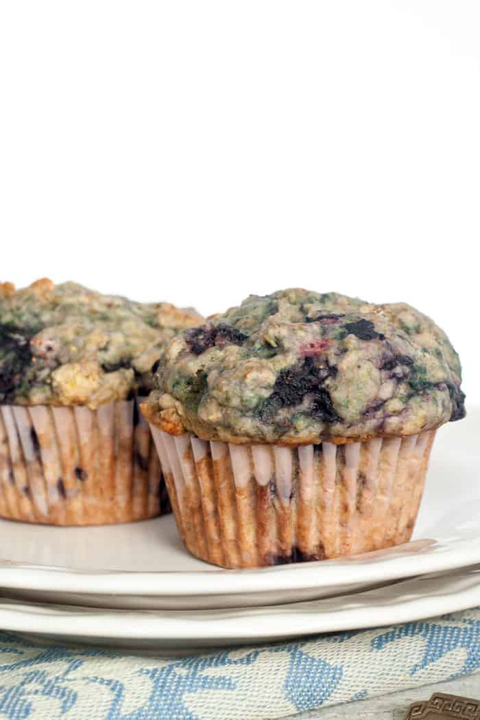 Blueberry Breakfast Muffins | Easy Vegan Blueberry Muffins