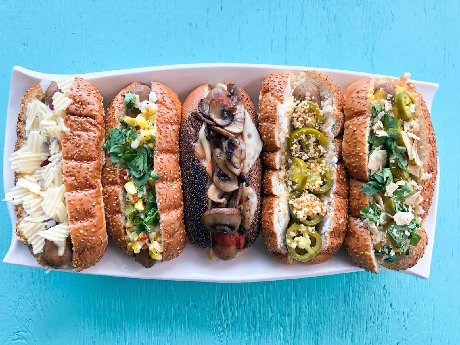 Vegan Hot Dog Toppings | Hot Dogs