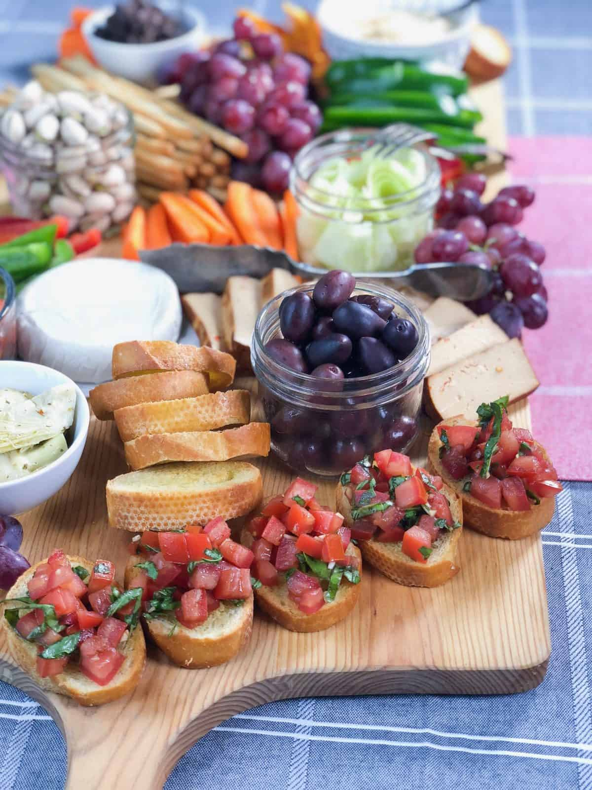 Vegan Grazing Table: How To Make A Vegan Grazing Platter