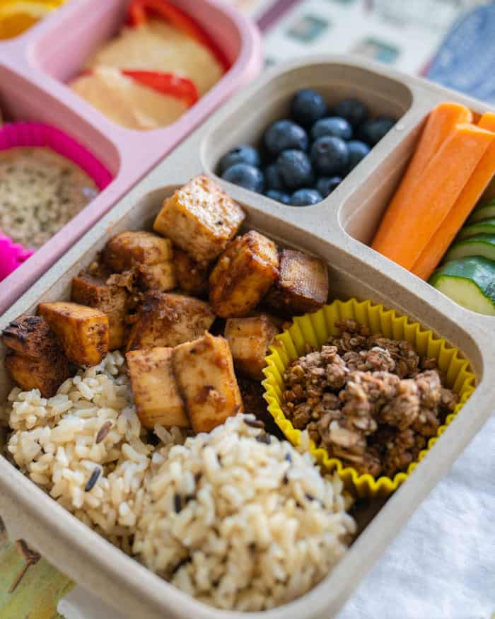 Easy Vegan Bento Box Ideas for Lunch | Vegan Meal Prep