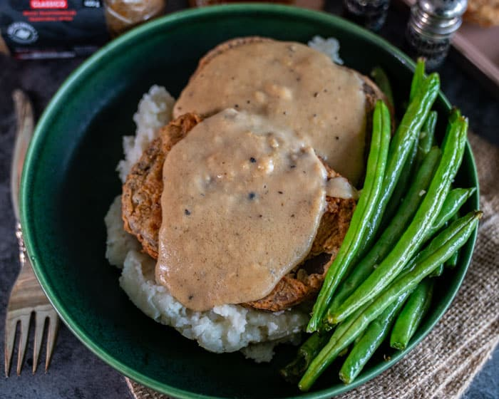 Chicken Fried Steak vegan