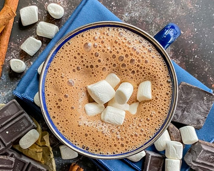 Soy Milk Hot Chocolate