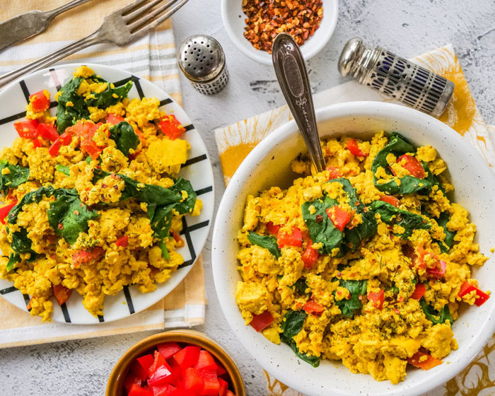 Vegan Scrambled Eggs