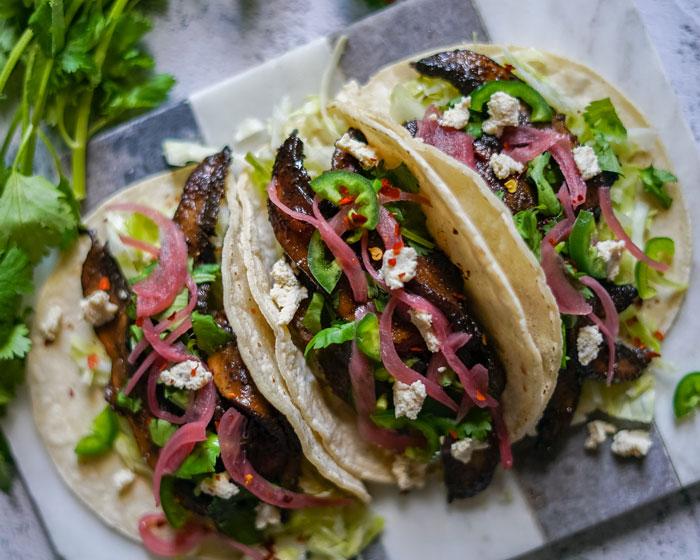 Portobello Mushroom Tacos Recipe