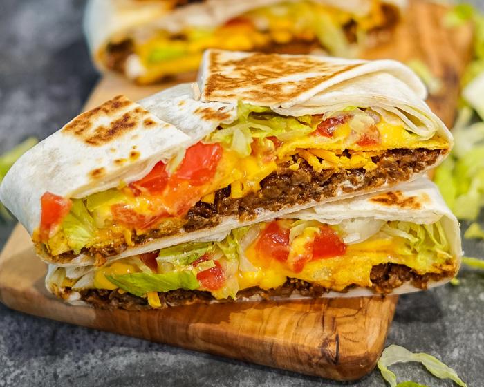 Vegan Crunchwrap Supreme (Vegan Taco Bell)