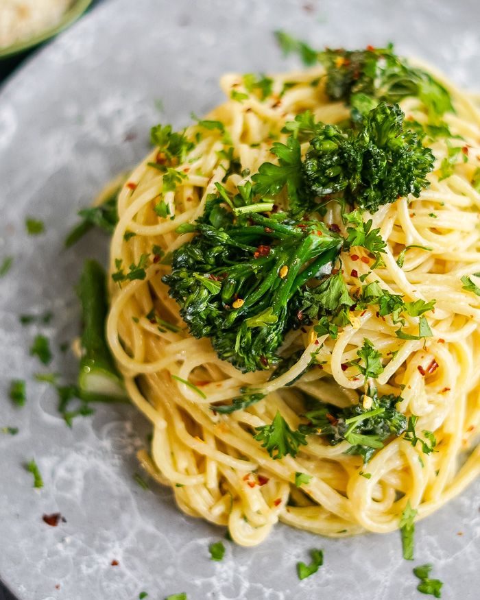 Vegan Broccolini Pasta