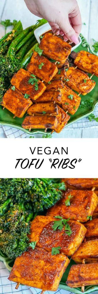 Vegan Tofu Ribs Recipe