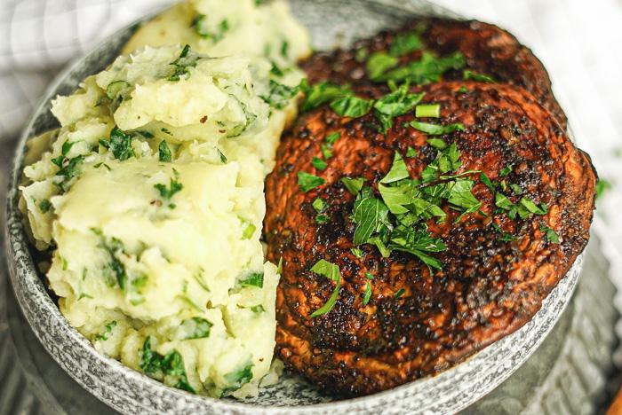 Vegan Colcannon Kale Meal