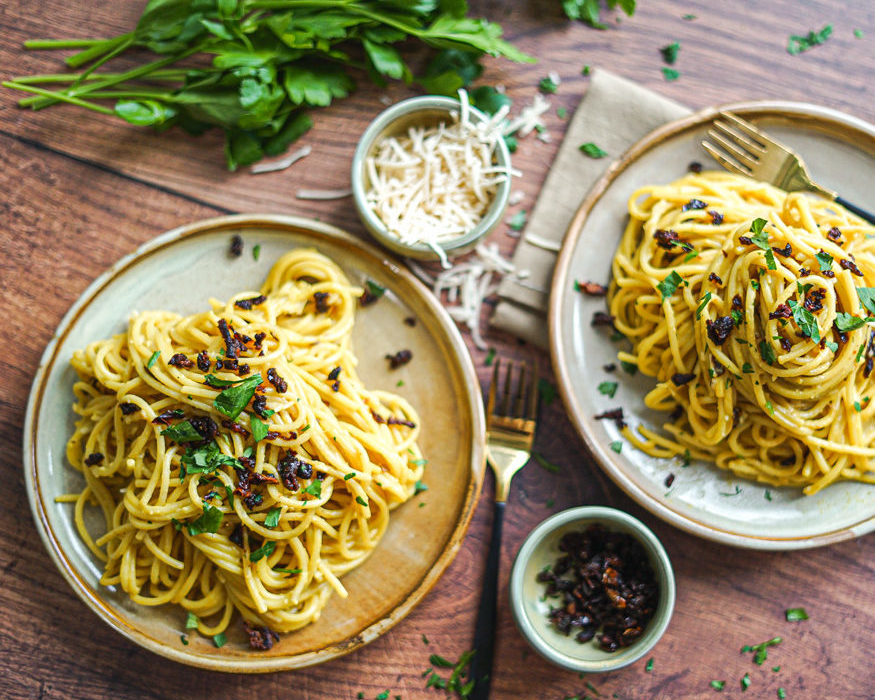 Vegan Carbonara recipe