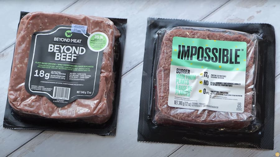 Comparing Beyond Meat and Impossible Foods