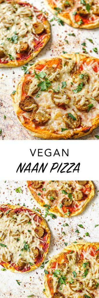 Naan Pizza Vegan Recipe