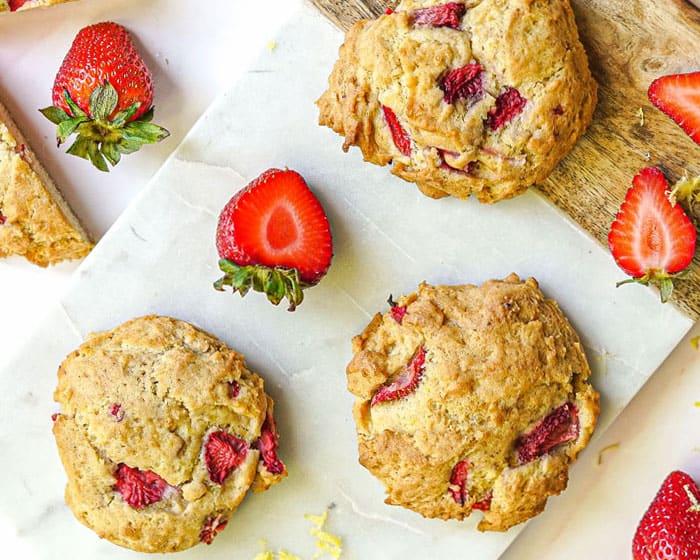 Strawberry Lemon Cookies Recipe