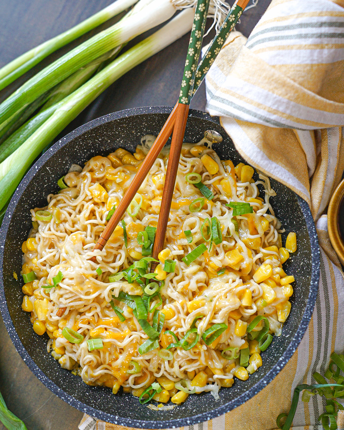 Vegan Corn Cheese Ramen Recipe