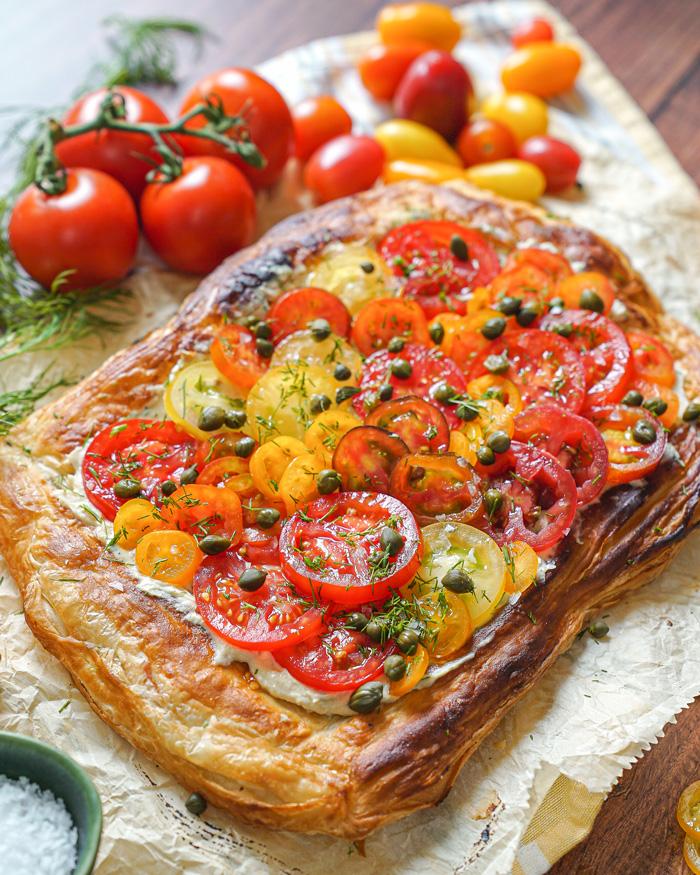 Vegan Tomato Tart Recipe